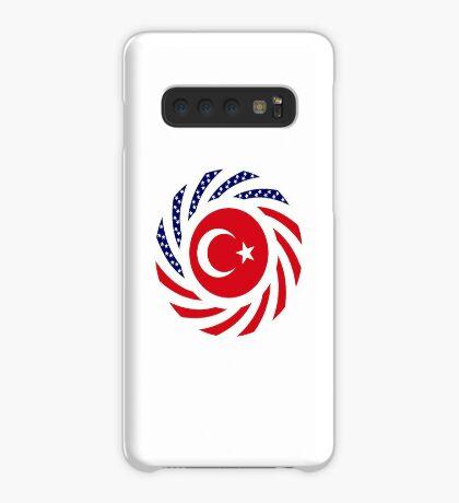 Turkish American Multinational Patriot Flag Series Case/Skin for Samsung Galaxy