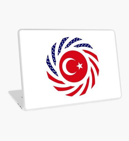 Turkish American Multinational Patriot Flag Series Laptop Skin