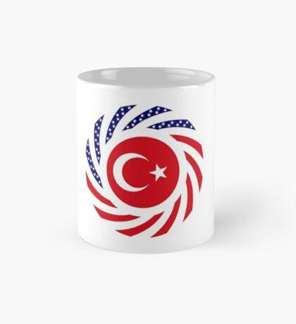 Turkish American Multinational Patriot Flag Series Mug