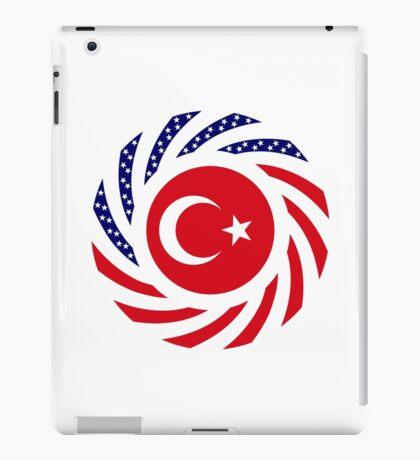 Turkish American Multinational Patriot Flag Series iPad Case/Skin