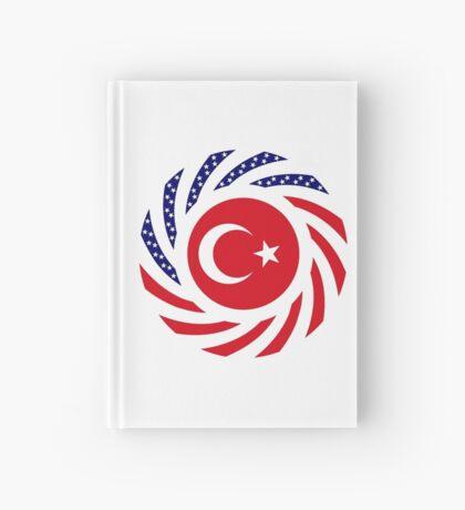 Turkish American Multinational Patriot Flag Series Hardcover Journal