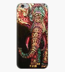 Vinilo o funda para iPhone elefante adornado 34