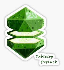 Cucumber Dice Sticker