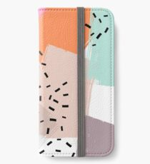 Snigger // Abstract Pattern Bright iPhone Wallet/Case/Skin