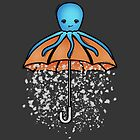 Umbrella Octopus by IceTouched