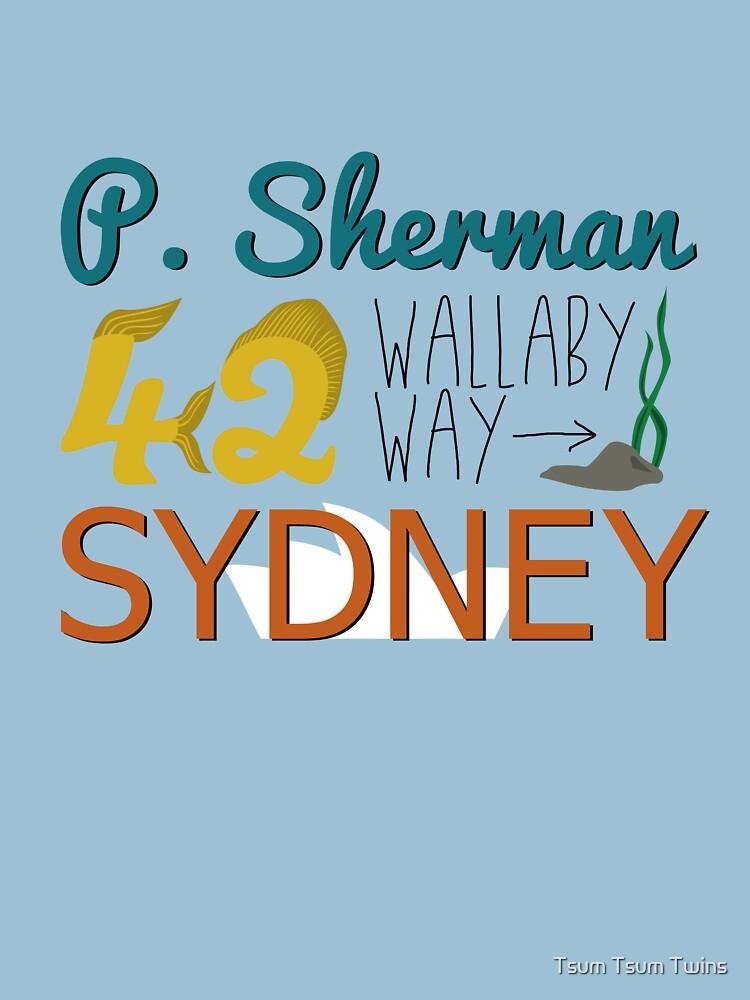 P. Sherman 42 Wallaby Weg Sydney von reeuuk