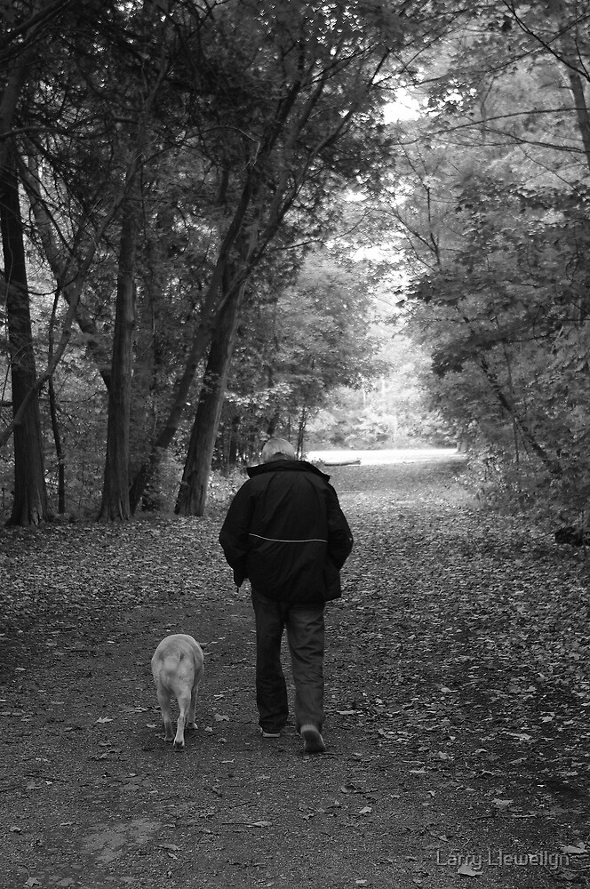 A Man and his Best Friend...... by Larry Llewellyn
