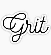 Grit Sticker