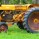 Old Yellow Tractor by MaeBelle