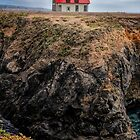 Point Cabrillo Lighthouse California by joancarroll