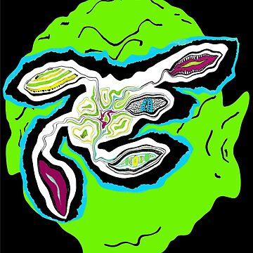 Edward L. Alienface II by TangoLea