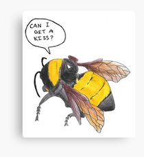 Hand-Drawn SFFB Bee [UPDATED] Canvas Print