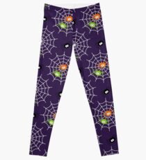 Spiders and Spider Webs Leggings