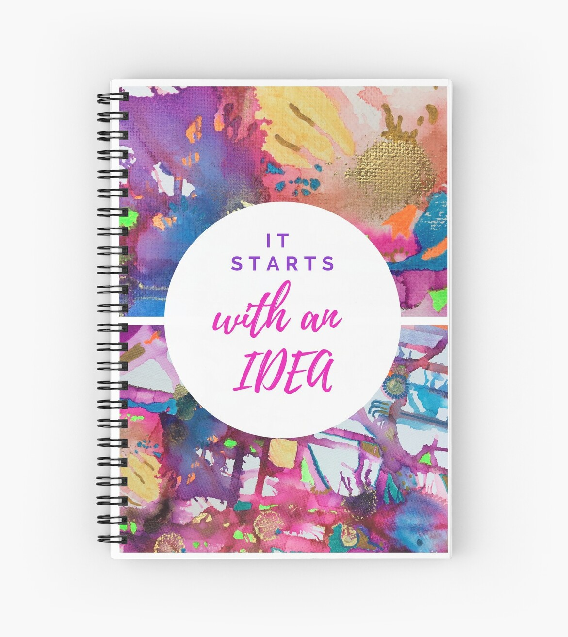 Abstract & Motivational Notebook  by Rachael Hope