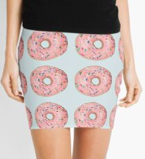 Strawberry frost donut Mini Skirt