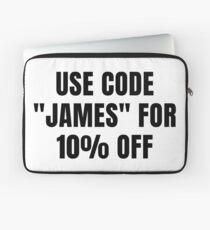 Code James Laptop Sleeve