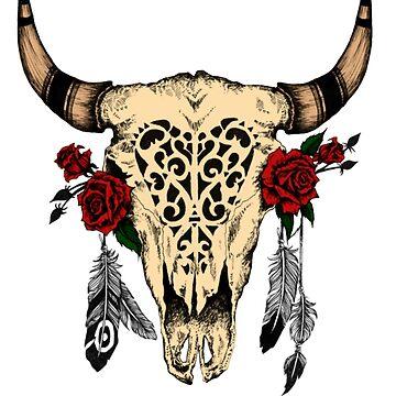 Bull Skull by JeferCelmer