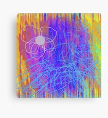 One Bloom Canvas Print