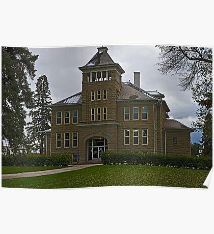 Teton County Court House Poster
