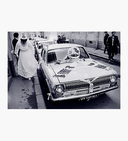 A Wedding in Lviv Photographic Print