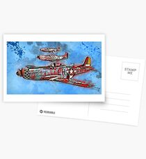P-51 Mustang Postcards