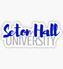 Seton Hall University Sticker