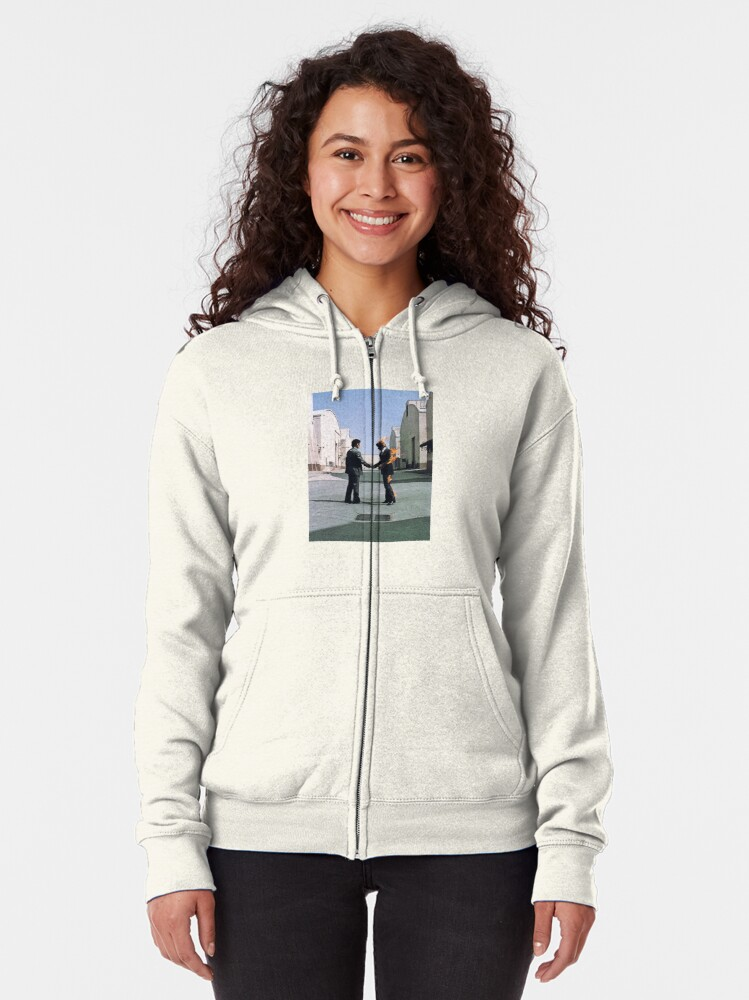 Alternate view of wish you were here Zipped Hoodie