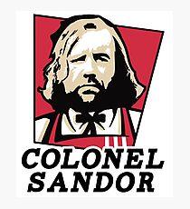 Colonel Sandor Photographic Print