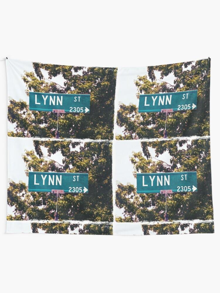 Alternate view of Lynn  Tapestry