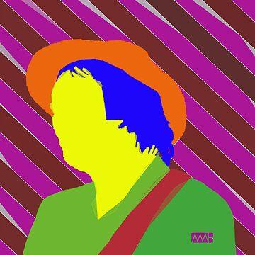 Gaz Coombes by myleshuntart