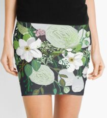 Floral Forest Mini Skirt
