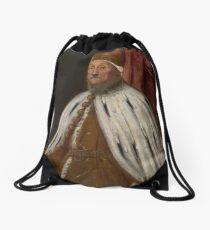 Doge Pietro Loredano by Tintoretto Drawstring Bag
