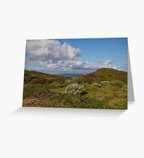 Point Peron Inland, WA Greeting Card