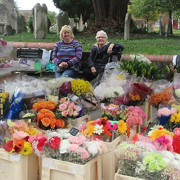 The Flower Sellers by lezvee