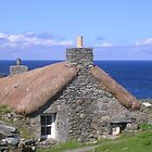 Cottage At Gearrannan Cove, Isle of Lewis by lezvee