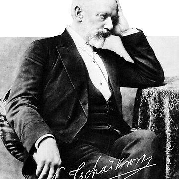 Pyotr Ilyich Tchaikovsky, Пётр Ильич Чайковский by opngoo