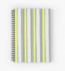 Fashion Super-cool Stylized Stripes Spiral Notebook