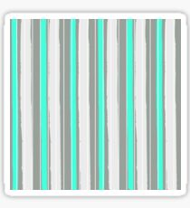 Fashion Super-cool Stylized Stripes Sticker