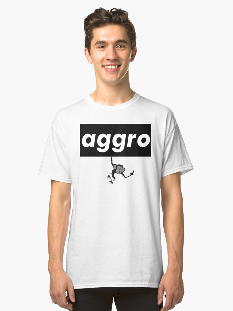Aggro Aggravation Aggressive Behavior Words That Mean Something Totally Different When You're A Gamer Classic T-Shirt Front