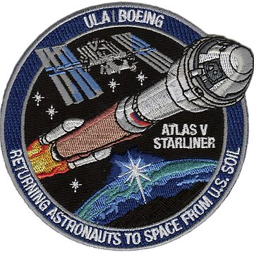 ULA & Boening Starliner Logo by Quatrosales