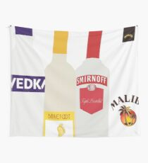 Alcohol Drawing Wall Tapestry