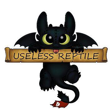 Reptil inútil de Redhead-K
