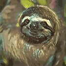 Jungle Sloth by savesarah
