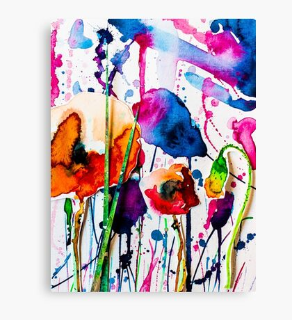 BAANTAL / Pollinate / Evolution #10 Canvas Print