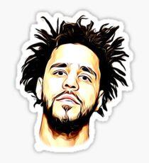 J. Cole Sticker