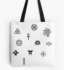 Pagan Symbols of the World Tote Bag