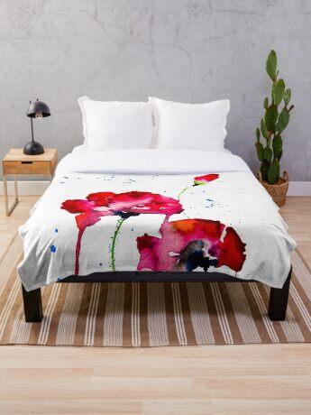 BAANTAL / Pollinate / Evolution #12 Throw Blanket
