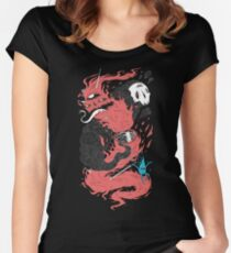 Death Of The Fire Demon Women's Fitted Scoop T-Shirt