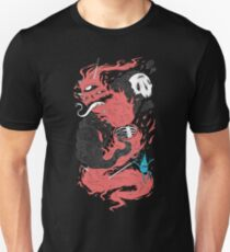 Death Of The Fire Demon Slim Fit T-Shirt