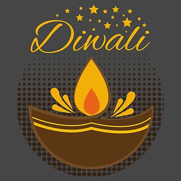 Diwali Light stars - Gift Idea by vicoli-shirts